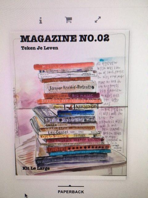 Magazine No.02 Teken je Leven!