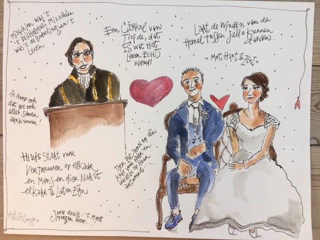 Bruidsreportage Lysanne en Jorn september 2017