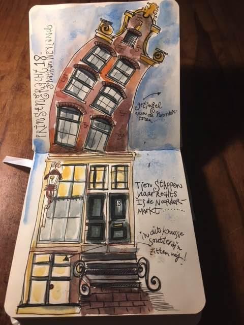 Artist in Residence Amsterdam oktober 2017
