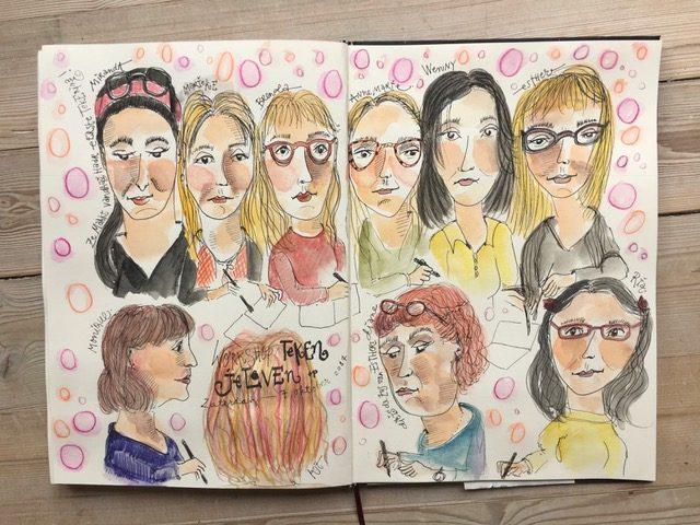 Workshop Teken je Leven 7 oktober