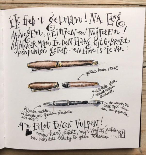 Een wonder van een pen…..