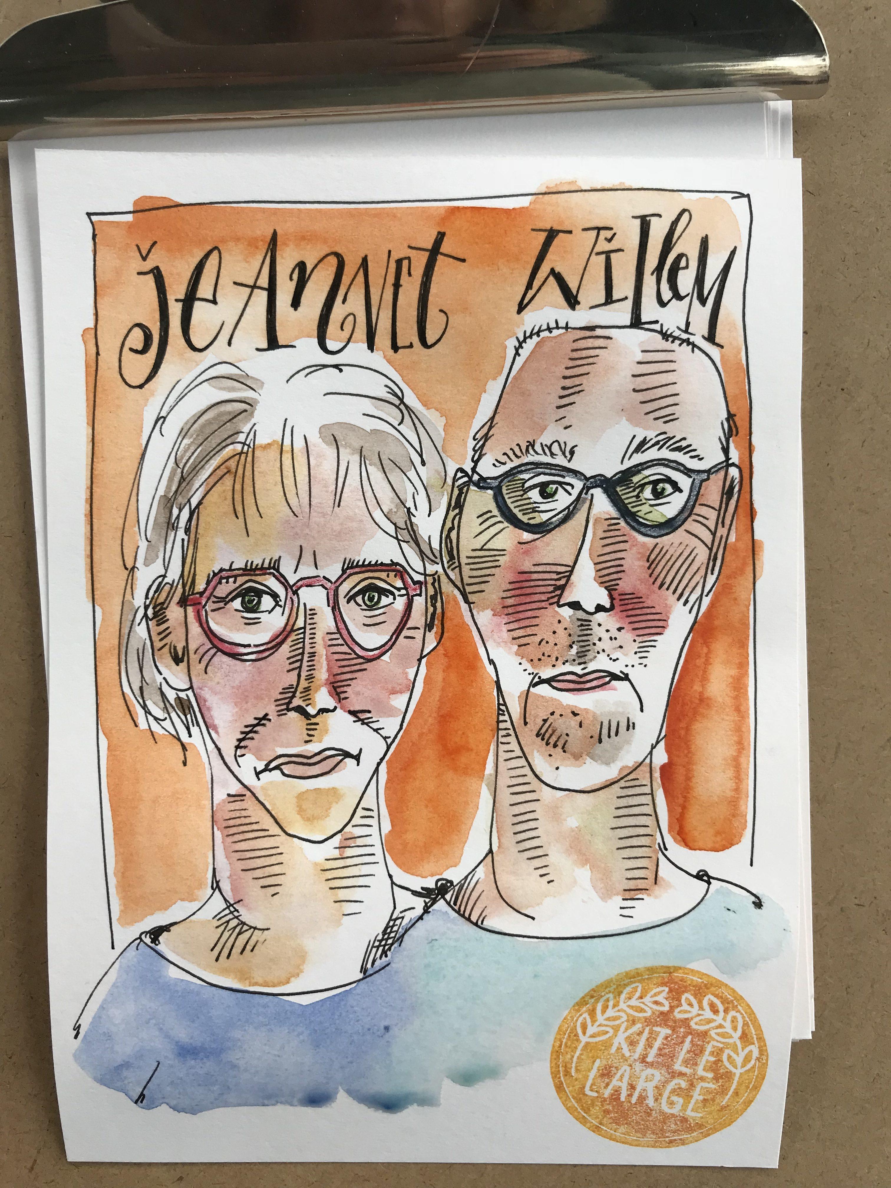 Tien minuten portretten tijdens Place de l'Eglise