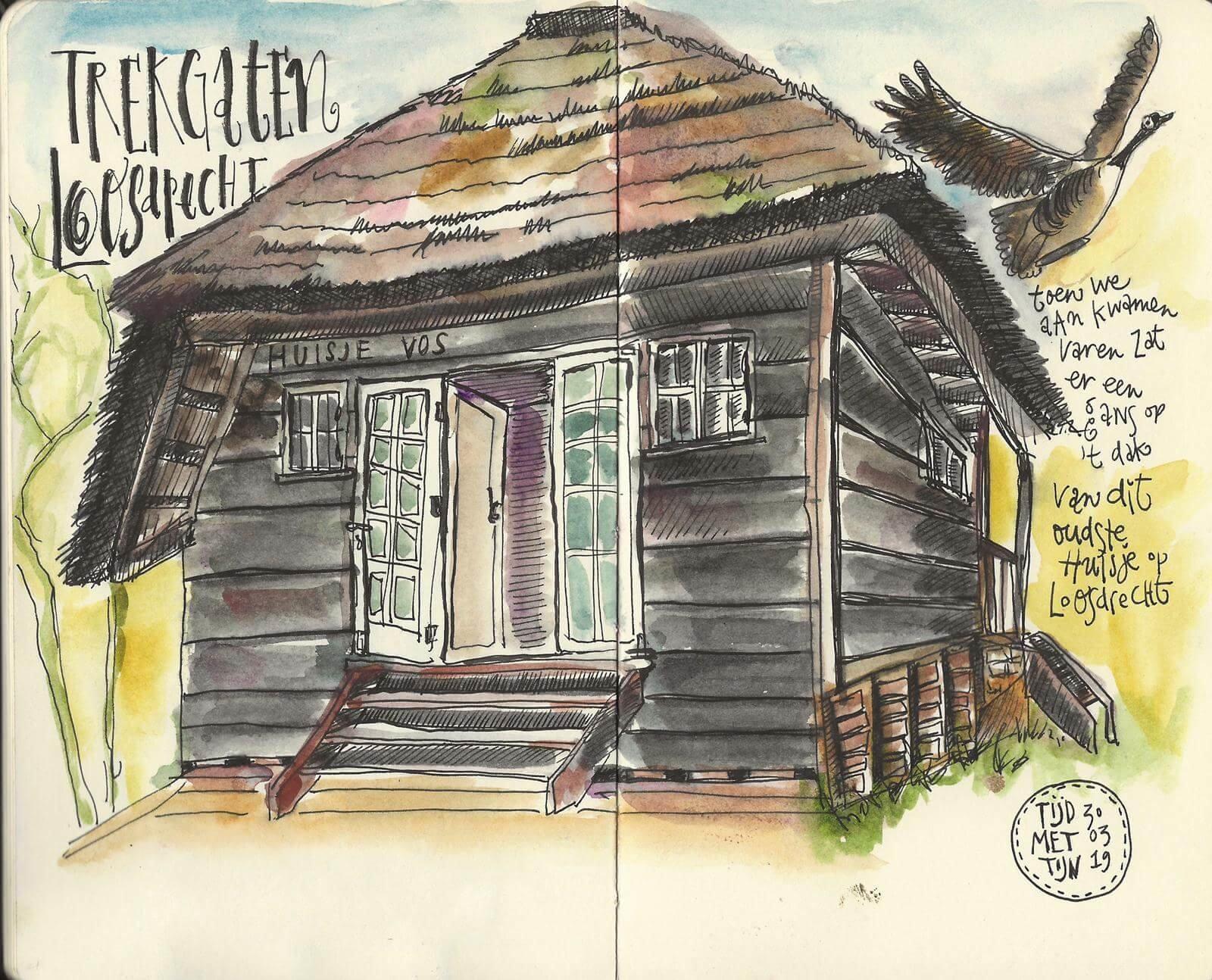 Oudste huisje op Loosdrecht